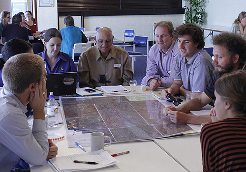 INFFER asset prioritisation workshop, Northern Agricultural Catchments Council, WA.